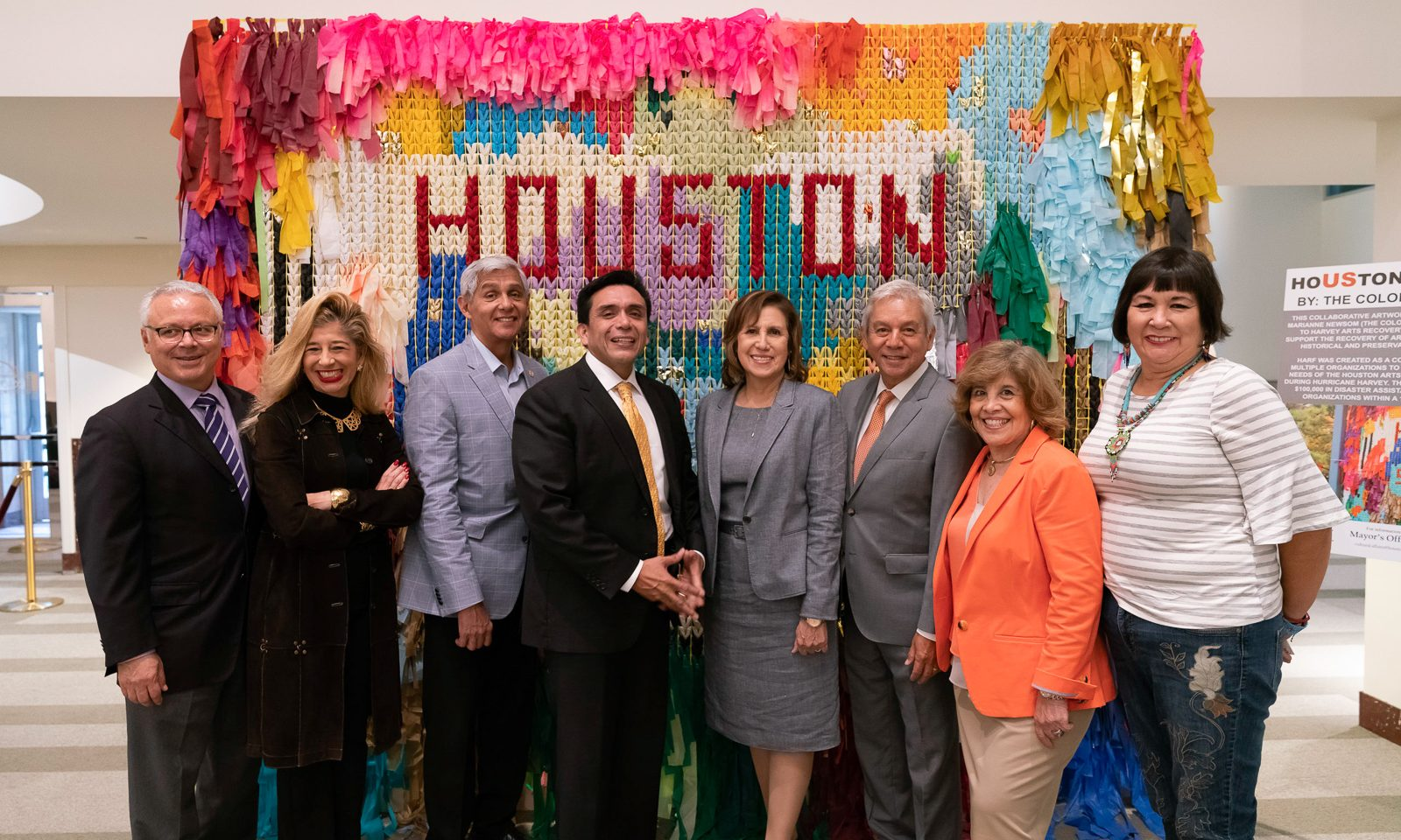 Houston Equity Report Press Conference at Houston City Hall September 2018