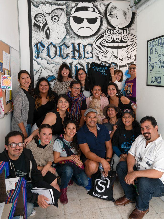 Site visit to Pocho House, home of Otros Dreams en Acción. Mexico City, Mexico.