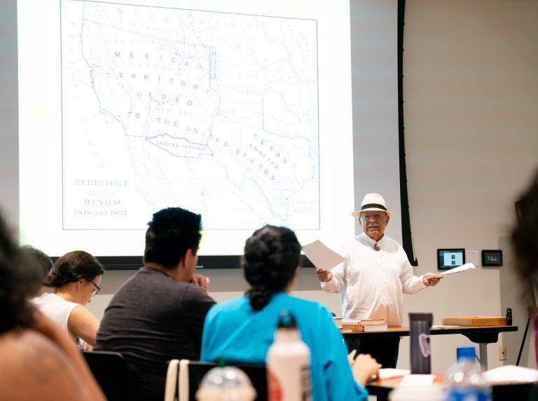 Tomas Ybarra-Frausto, Lecture