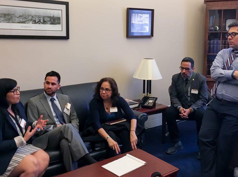 2016 ALI Fellows speaks to Executive Staff of Rep. Joaquin Castro